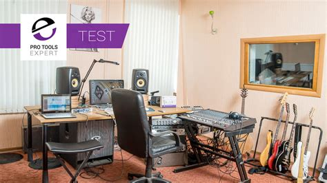 theory test room testing home studio acoustics with 5 sets of studio monitors pro tools expert
