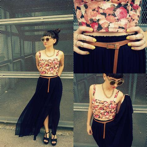 Estera Skirt estera lovrec bershka top h m skirt zara wedges flowers are forever lookbook