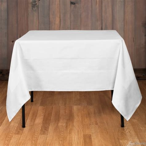 Square Linen table linen fabric guide