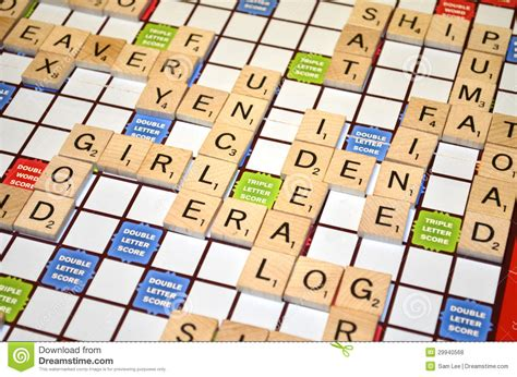 scrabble up scrabble result scores up royalty free stock