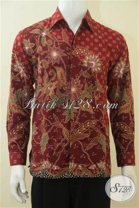 Baju The Executive baju kerja batik executive perusahaan pakaian kerja pria karir sukses hem batik lengan panjang