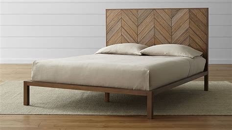 crate beds chevron bed crate and barrel