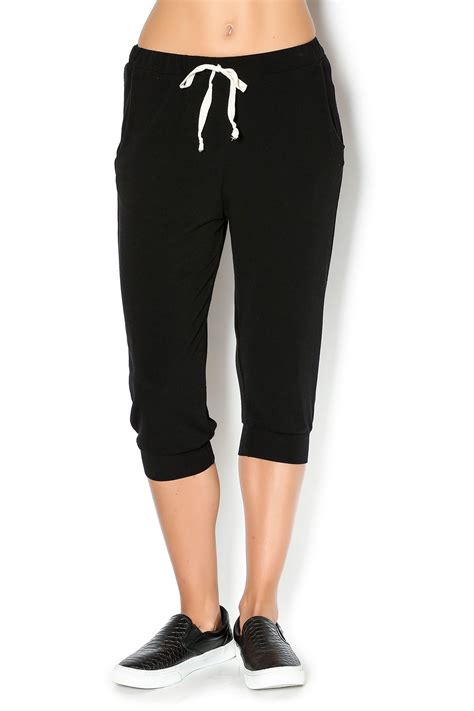 The Cropped Sweatpant w i l l i a m b cropped jogger sweatpants from los angeles