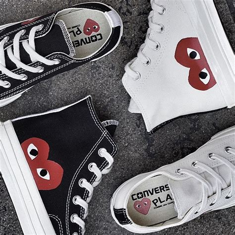 Converse X Cdg Play Ct 70 High Black converse x commedesgarcons cdg on instagram