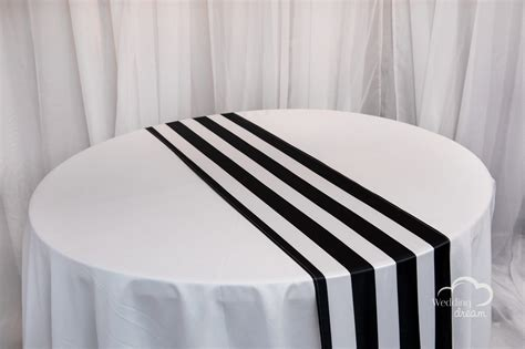 and white striped table runner black and white striped table runner table ideas