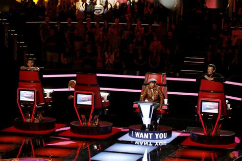 the voice chair the voice judges big on vachal sydney rhame