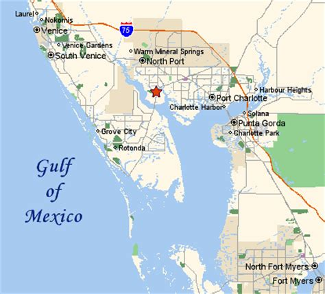 map mexico florida real estate investment port florida properties