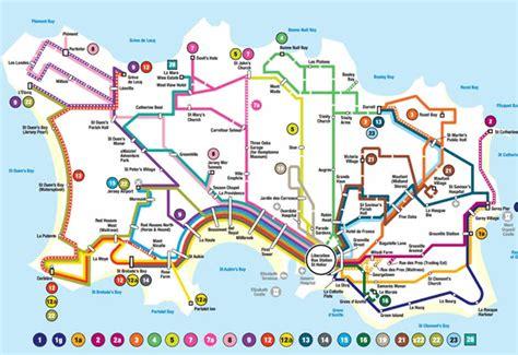 0004490363 carte touristique jersey en visitez pleins d endroits avec votre bus pass jersey
