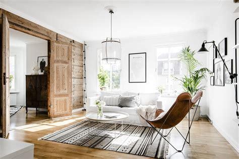 roomed sessel stoere zweedse woonkamer huis inrichten
