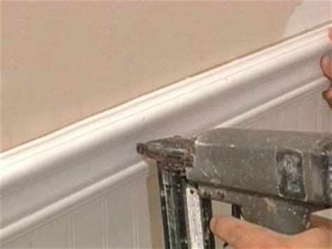 applying beadboard how to install beadboard and trim how tos diy