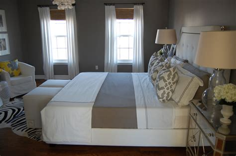 fieldcrest bedding contemporary bedroom benjamin galveston gray