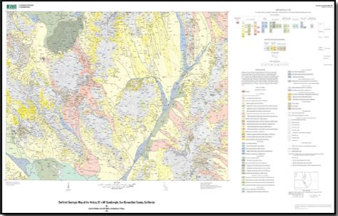 geologic map san jose quadrangle surficial geologic map of the amboy 30 x 60 quadrangle