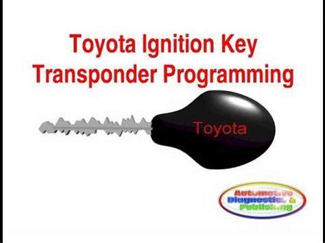 Toyota Key Programming Toyota Ignition Key Programming