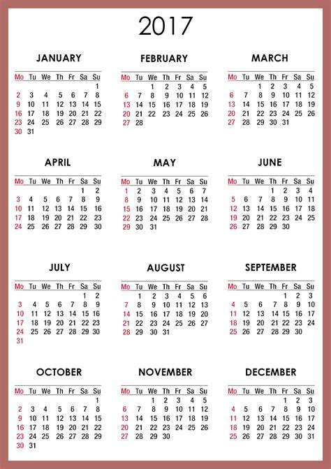 printable calendar 2016 ontario free printable calendar templates 2017 blank calendar 2017