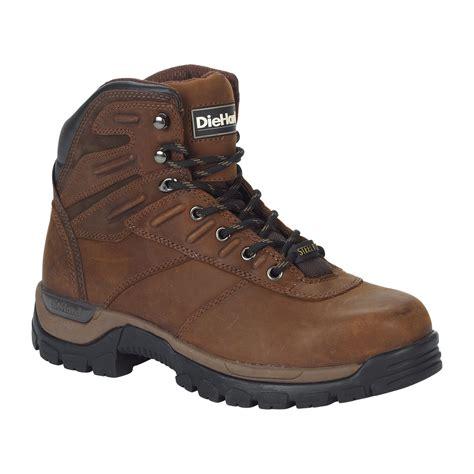 diehard boots diehard s kilim steel toe work boot brown