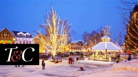 best town squares in america america s 16 best small towns for christmas town
