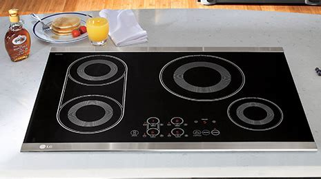 lg induction cooking new lg radiant electric cooktops
