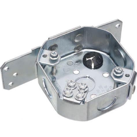 ceiling fan bracket box arlington fbs415s octagonal fan and fixture joist mounting