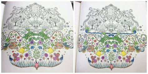 secret garden coloring book postcards free secret garden coloring pages