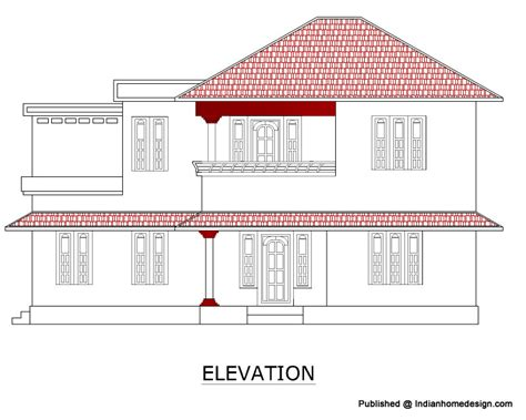 building floor plan detail and elevation view detail dwg file rcc house plans escortsea