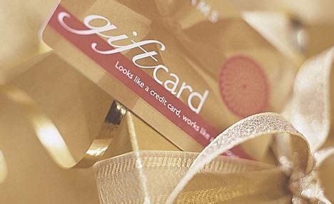 Gift Cards Go Unused - gift cards and vouchers worth 163 250million go unused daily mail online