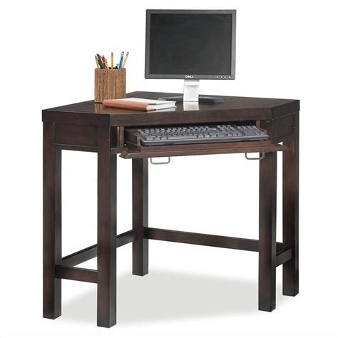 Corner Writing Desk Home Styles City Chic Corner Laptop Occasional Table Espresso Writing Desk Ebay
