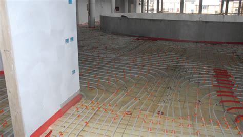 consumi riscaldamento a pavimento impianto radiante a bassi consumi per l istituto negrelli