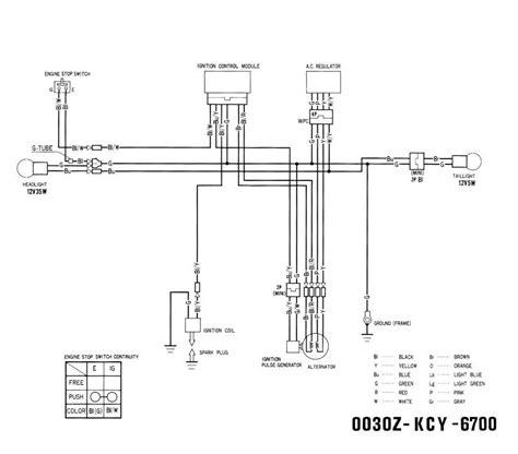 99 xr400r enduro wiring updates xr250 400 thumpertalk