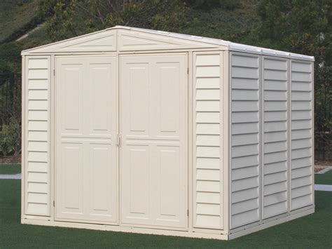 Sheds On Sale Free Shipping by Duramax 00384 Vinyl Shed And Foundation On Sale Free Shipping