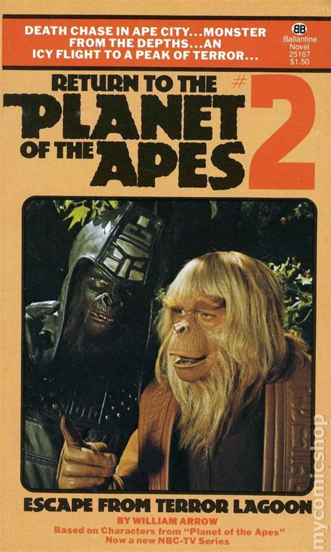 rescued ape quartet books return to the planet of the apes pb 1976 ballantine books