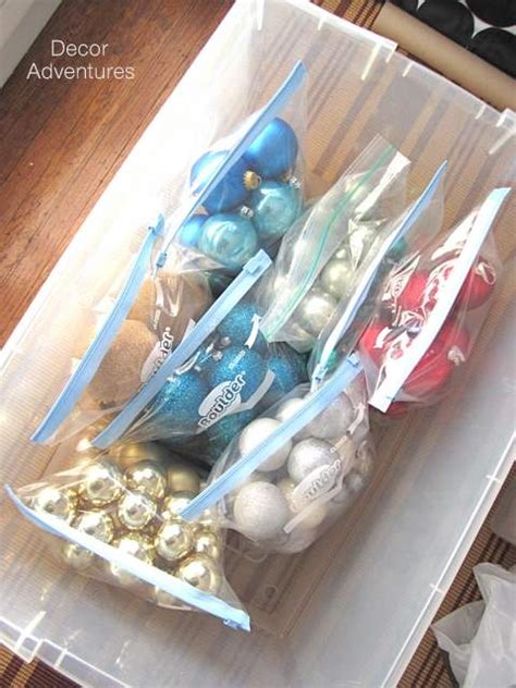 how to organize christmas ornaments 187 decor adventures