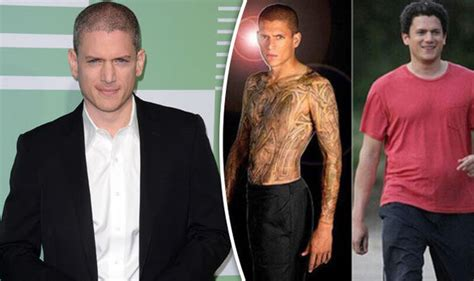 prison break star wentworth miller shuts down fat shaming prison break star wentworth miller responds to fat shaming