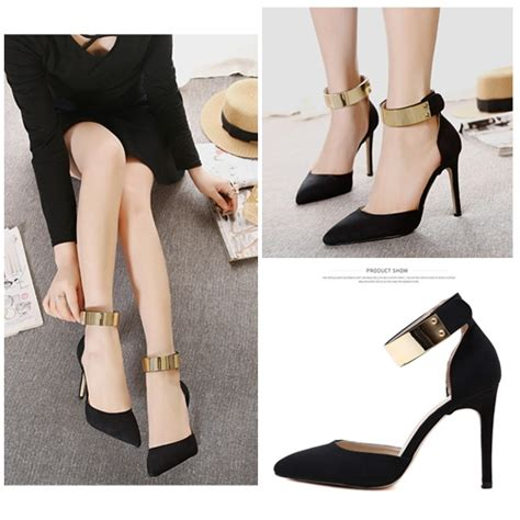 Sepatu Pesta Wanitasepatu Wanita Heels Black Alphard jual shh8251 black sepatu pesta elegan 10cm grosirimpor