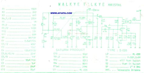 cheap walkie talkies circuit electronic circuit diagram