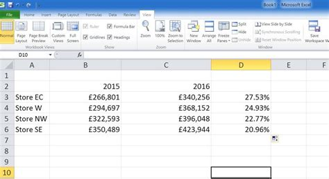 excel tutorial how to calculate percentages calculating percent increase decrease excel slaying