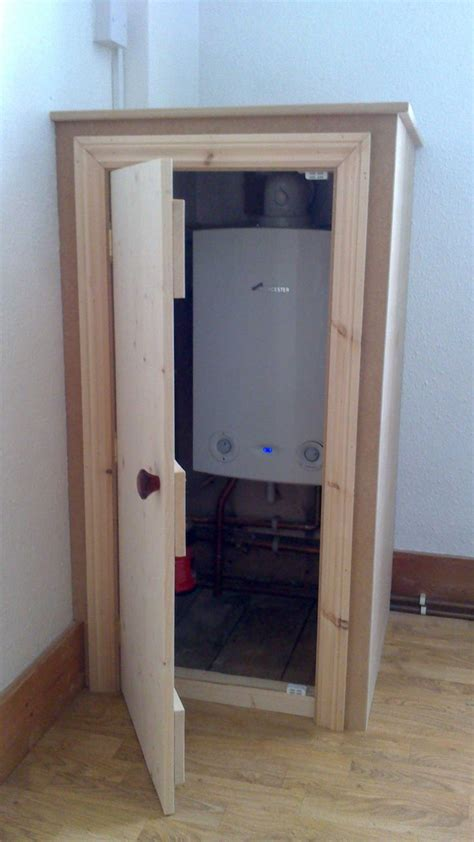 12 best how to hide a boiler images on - Boiler Cupboards