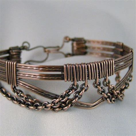best wire for jewelry 501 best jewelry bracelets wire wrapping images on