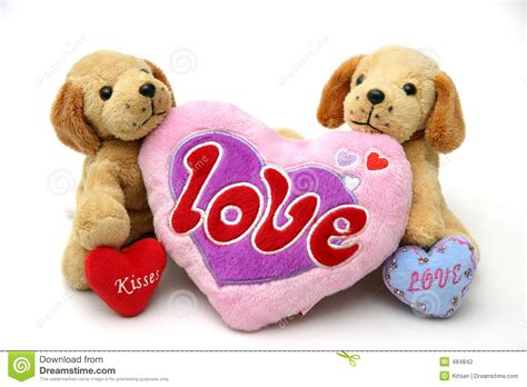 puppies with hearts puppies with hearts stock photography image 484842