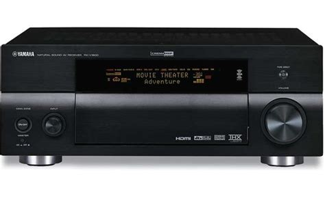 yamaha rx  thx select certified home theater