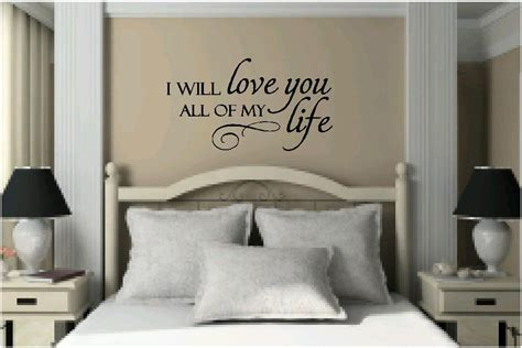 bedroom quotes bedroom wall quotes quotesgram