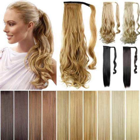 gfabke hair pieces in bsrrel curl pony tails ponytails hair pieces 22 quot synthetic hair long