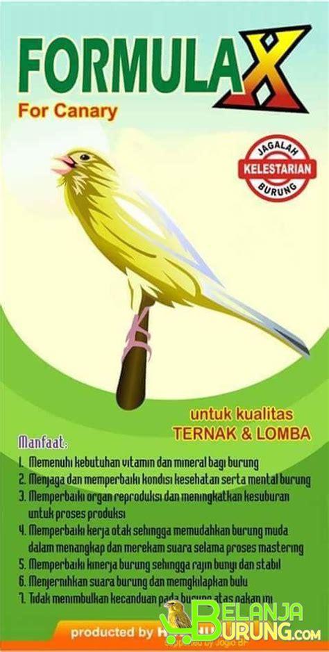 Ebod Jaya Pakan Burung Perkutut formula x pakan burung lomba dan ternak belanjaburung