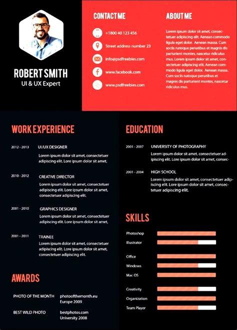 modern resume template 2016 free modern resume templates 2016 free sles