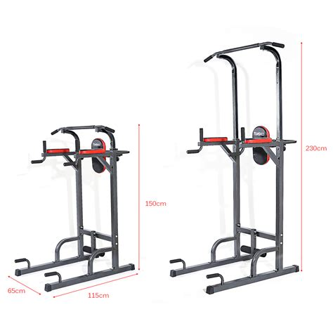 bench pull ups tomshoo adjustable fitness equipment home gym sturdy steel