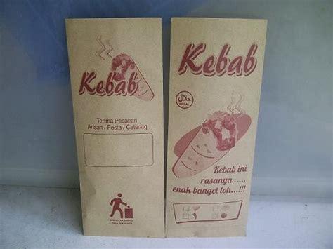 kertas kebab coklat besar supplier bahan baku kebab