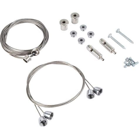 pendant light suspension kit led 600 x 600 36w panel light hanging kit toolstation