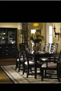 black wood dining room sets collections