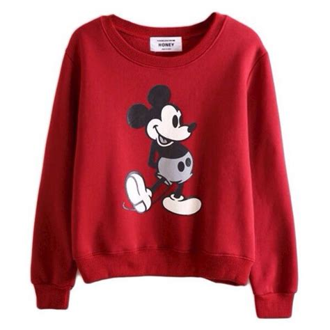 Sweater Mickey Pink sweater mickey mouse sweatshirt sleeves wheretoget