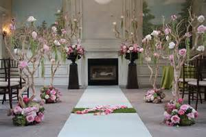 simple wedding decorations for home indoor ceremony decor wedding ceremony photos by rachel a