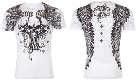 couture tattoo details about xtreme couture affliction mens t shirt